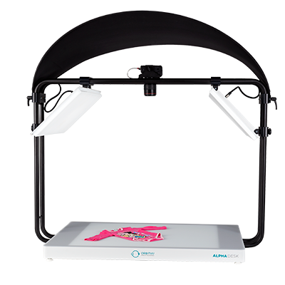 ALPHADESK - Automated Compact Flat Product Photography System - product image