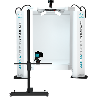 ALPHASTUDIO COMPACT PRO - Automated 2D, 3D, 360 and Video Product Photography System - product image