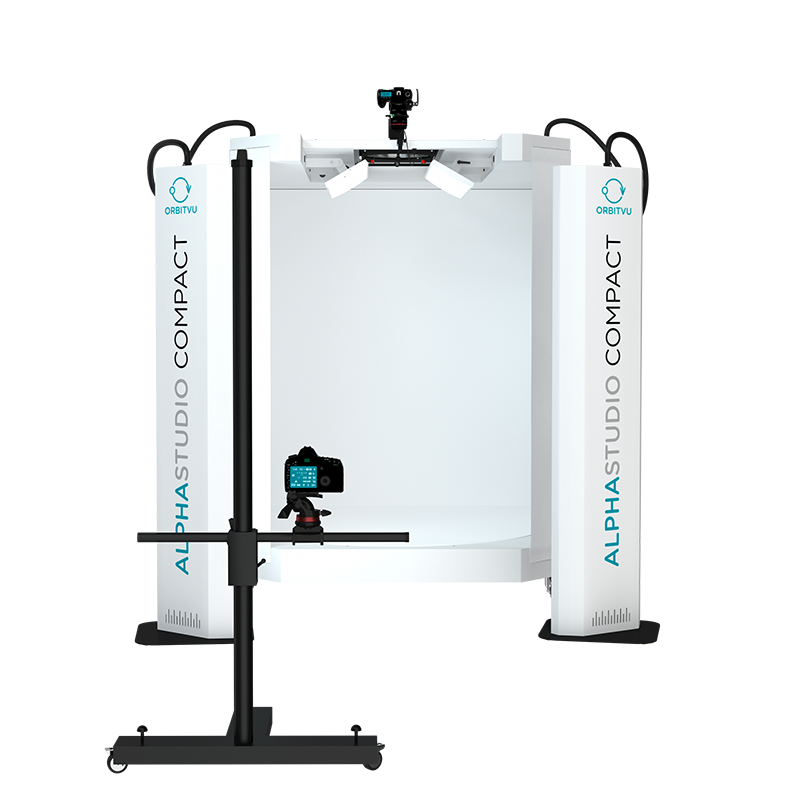 ALPHASTUDIO COMPACT PRO - Automated 2D, 360 and Video Photography System - product image