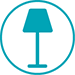 Product Photography Icon - Homeware - Lighting - Lamps