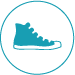 Product Photography Icon - footwear - shoes - sneakers