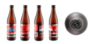beer bottle sample shots