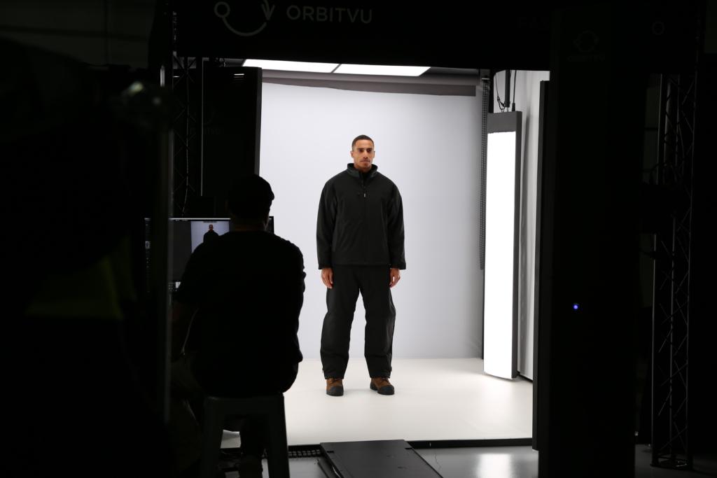 Fashion Studio Photoshoot Set-up for Dark Colored Clothing product