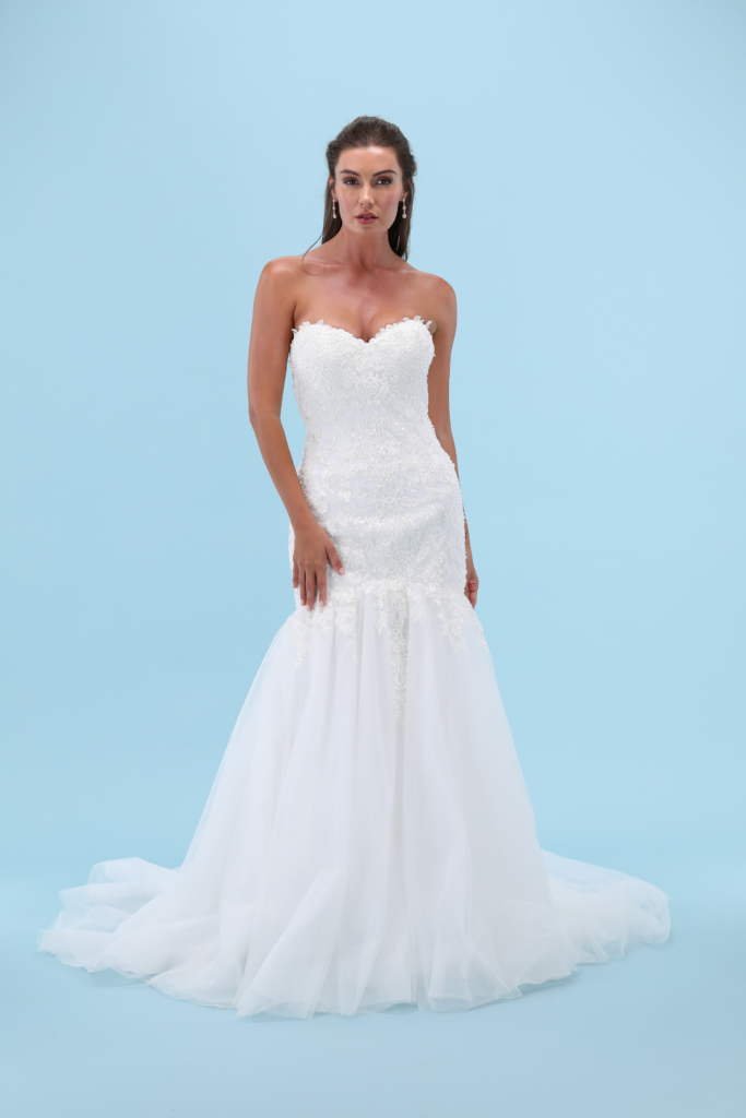 Wedding Dress Front View for website product page