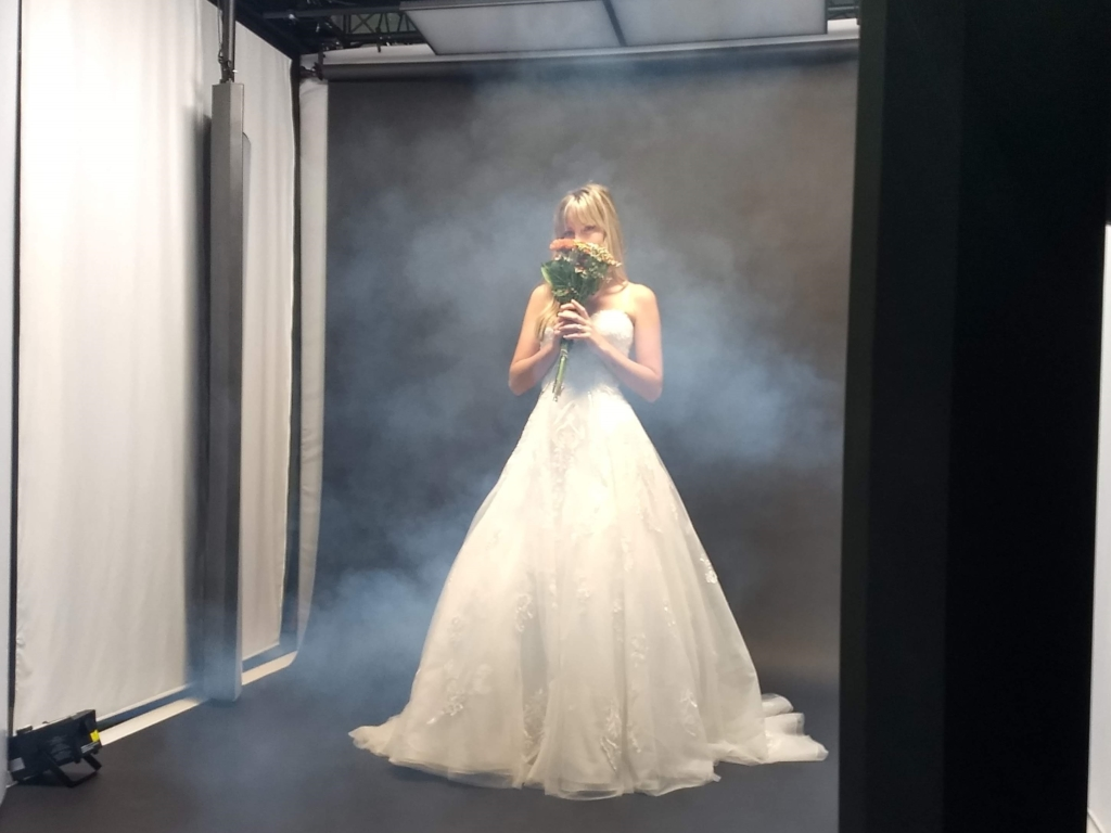 Halloween Themed Bridal Fashion Product Photography Props