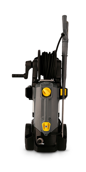 still front profile product photography - karcher power tool
